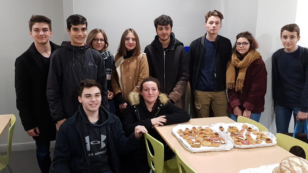 Visite du lycée Thérèse Planiol